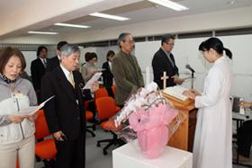 バプテスト緩和ケア訪問看護ステーション開所式